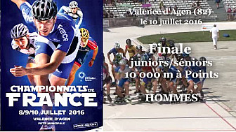 Championnat de France Roller Piste 2016: Finale Juniors/Séniors 10 000m à points @FFRollerSports #TvLocale_fr #TarnEtGaronne @Occitanie