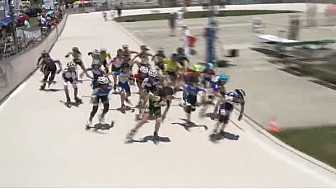 Championnat de France Roller Piste 2016: Finale Benjamines 3 000m s @FFRollerSports #TvLocale_fr #TarnEtGaronne @Occitanie