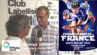 #Roller sports : Nicolas Belloir, président de la @FFRollerSports au micro de TvLocale
