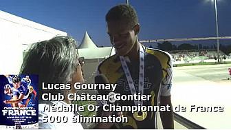 Roller - Lucas Gournay - CPR Château Gontier - Médaille Or Championnat de France